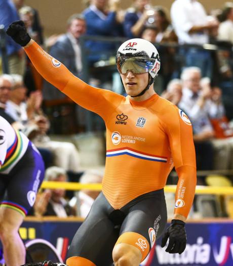 Hoogland klopt wereldkampioen Lavreysen in sprintfinale