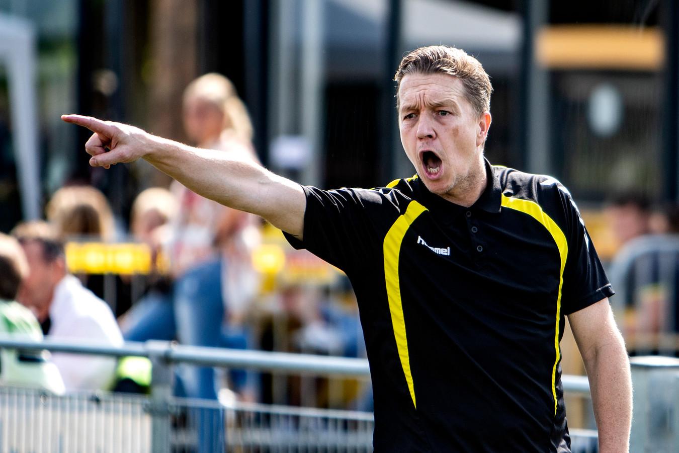 Bjorn Rutten, trainer van Sallandia