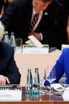 Trump ontmoet May volgende week in Davos