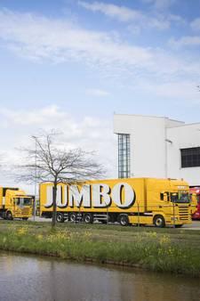 Medewerkers Jumbo staken bij distributiecentrum Woerden