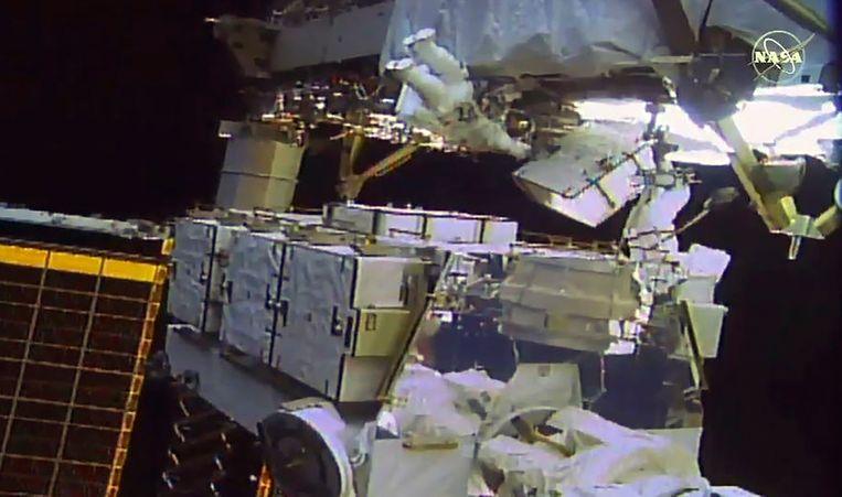 Jessica Meir en Christina Koch maakten vandaag met succes een wandeling in de ruimte.