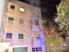 Brand in appartementencomplex in Eindhoven door bovenburen ontdekt, bewoners op tijd in veiligheid