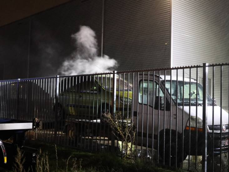 Autobrand in Sprang-Capelle