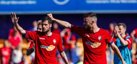 Osasuna na twee jaar terug in La Liga