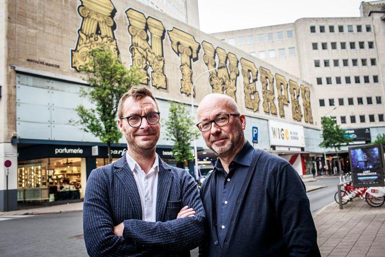 Joost Houtman en Bart De Clerck.
