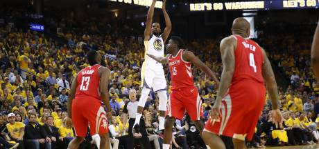 Golden State Warriors weer op voorsprong tegen Houston