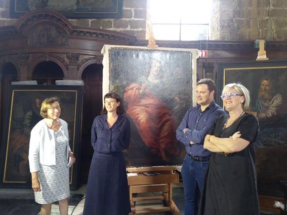 Diest pakt uit met de schilderijen van de vier evangelisten door Theodoor Van Loon.