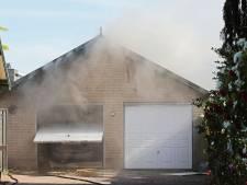Felle schuurbrand in Berghem snel onder controle