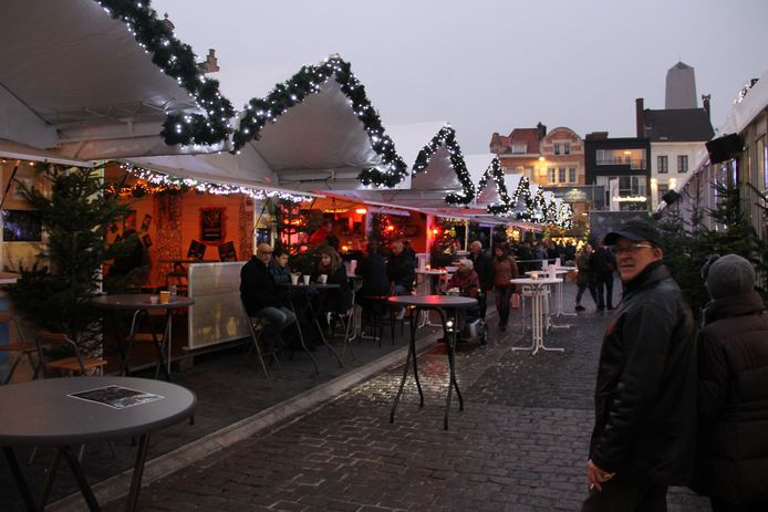 Geen kerstdorp in Roeselare of elders in West-Vlaanderen dit jaar.