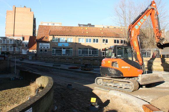 Werken Marktlaan De Panne moeten eind maart klaar zijn. Die in de Meeuwenlaan zullen tot eind juni duren.