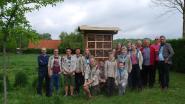 Scouts en KWB openen hun insectenhotel