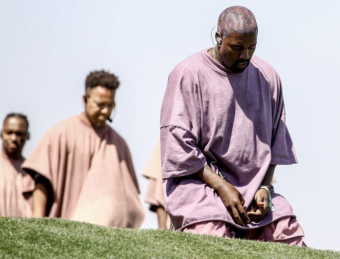 Ook de tijden van Kanye's Sunday Services - muzikale erediensten - lijken voorbij.