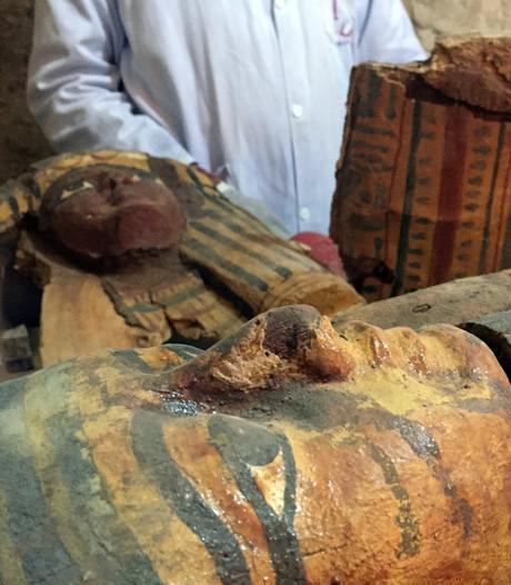 Acht mummies ontdekt in eeuwenoude graftombe