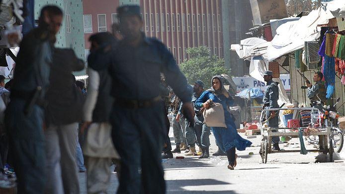 Op 18 juni werd al een aanslag op een politiestation in Kabul gepleegd. © ANP