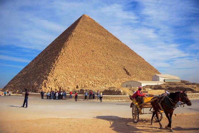 La pyramide de Khéops.