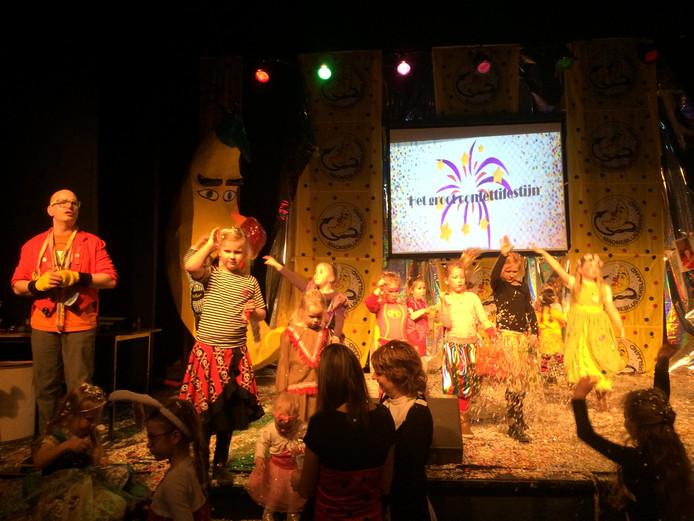 Veel kindervreugde tijdens het Grote Confetti Festijn in Den Bolder.
