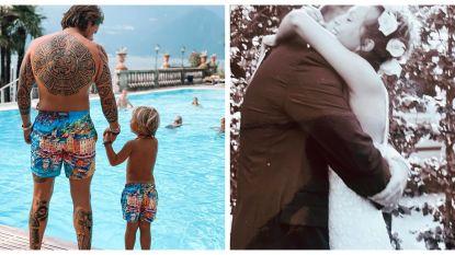 SHOWBITS. De matching zwembroek van André Hazes en de huwelijksverjaardag van Martine Prenen