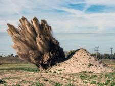 Particulieren lopen geld voor onderzoek naar explosieven mis