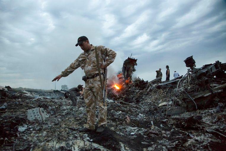 Archiefbeeld MH17.