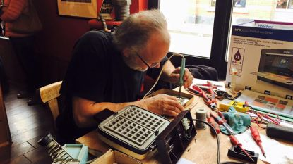 Repair café in Levi's eetcafé
