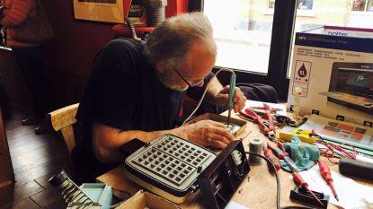 Repair café in Levi's eetcafé