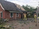 Schade van windhoos in Haaksbergen