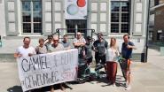 Beernem verwelkomt fietsende vader en zoon tijdens tocht naar Denemarken
