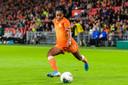 Ashleigh Weerden (20) maakte gisteren tegen Rusland haar debuut voor Oranje.
