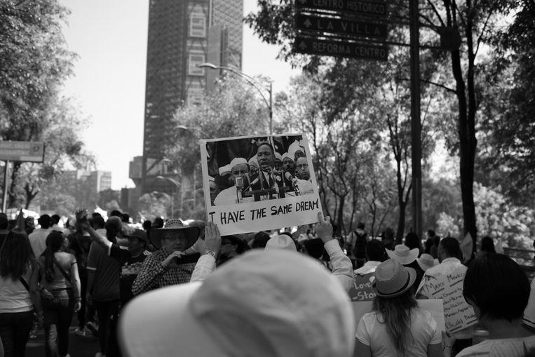 Jaren later zijn de woorden van Martin Luther King nog steeds een inspiratie Beeld Jeronimo Bernot