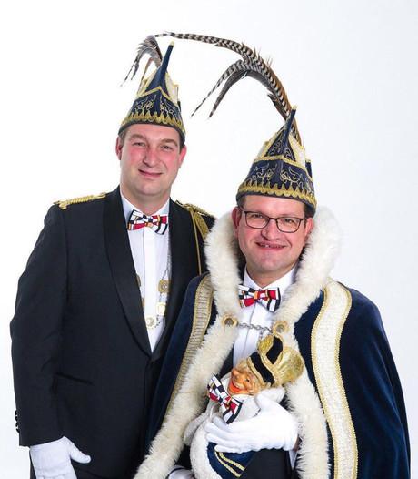 John van Krevel nieuwe prins van Berghems Knollenrijk