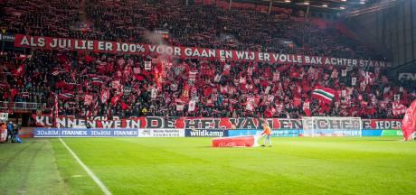 Supportersvakken allemaal vol voor kraker Twente-Go Ahead