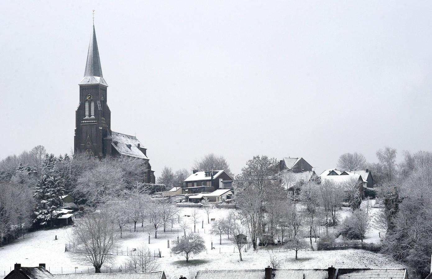 Het Limburgse Vijlen, het hoogst gelegen dorp van Nederland.