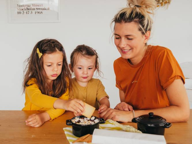"""COLUMN. Lara Switten (34), ziek en net bevallen, mist haar 2 dochters: """"Het doet zoveel pijn, om te praten over het mekaar niet mogen zien"""""""