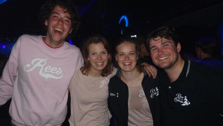 De wedstrijdleiding: Loek Dekker, Emilie Pieters, Jet Dalstra en Casimir van der Post. Dekker: 'Het lijkt misschien een ongeregeld zooitje' Beeld Schuim