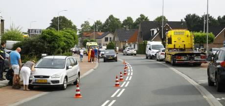 Ongeluk bij een ongeluk in Wezep, een gewonde