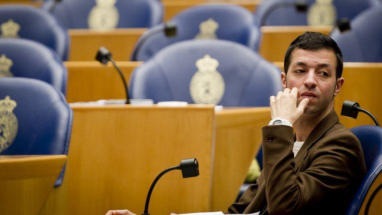 © ANP. Tweede Kamerlid Tofik Dibi van GroenLinks. Beeld null