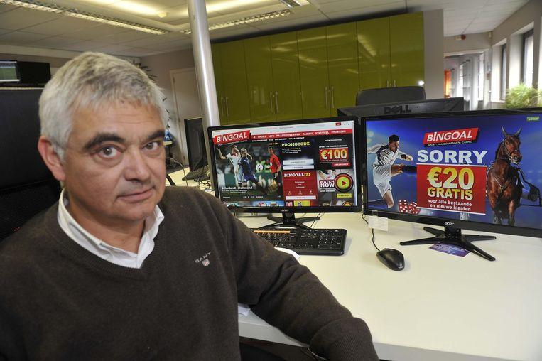 Marketingdirecteur Michaël Cornelis van de online bookmaker Bingoal.