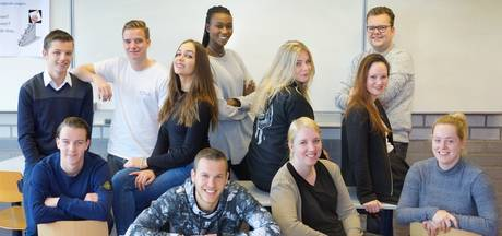 Studenten in actie voor dementerenden Hamerstaete
