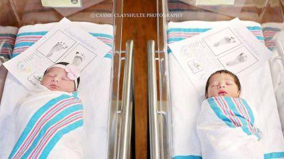 Moderne Romeo en Julia bijna gelijktijdig geboren in hetzelfde ziekenhuis