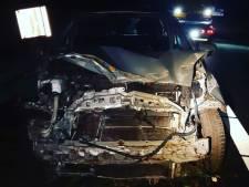 Vrouw onder invloed veroorzaakt ongeluk op A2 bij Maarheeze: 'Geluk dat er geen gewonden zijn gevallen'