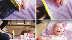Illusionist 'zaagt' zijn baby in tweeën met kinderboeken. Zie jij hoe de truc werkt?