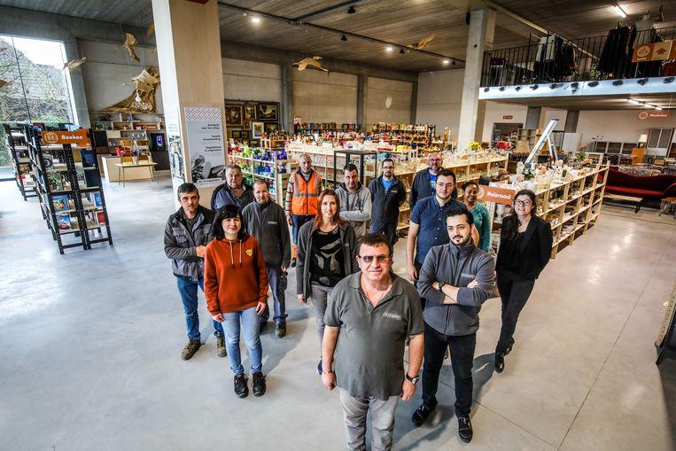 De nieuwe Kringloopwinkel in Zedelgem.