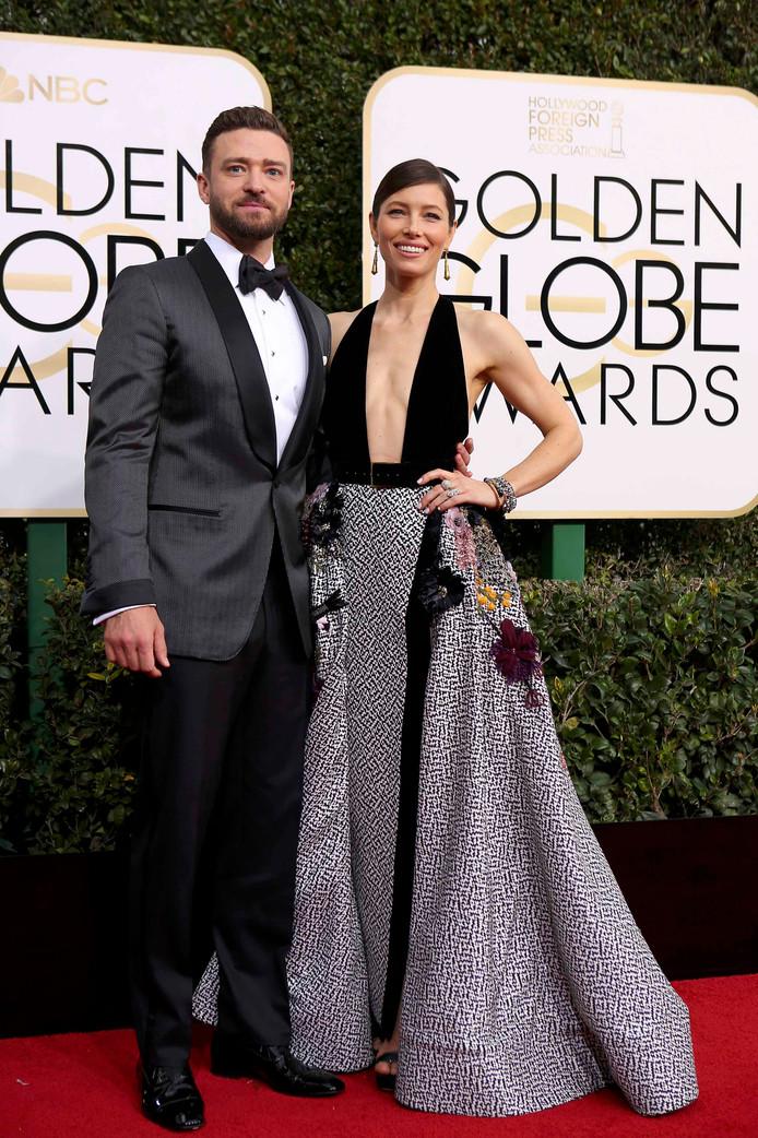 Jessica Biel met Justin Timberlake.