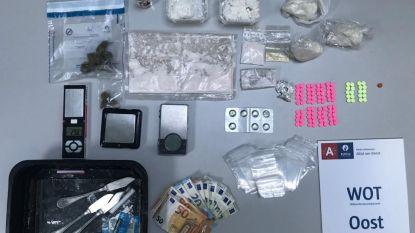 Politie pakt drie drugsdealers op