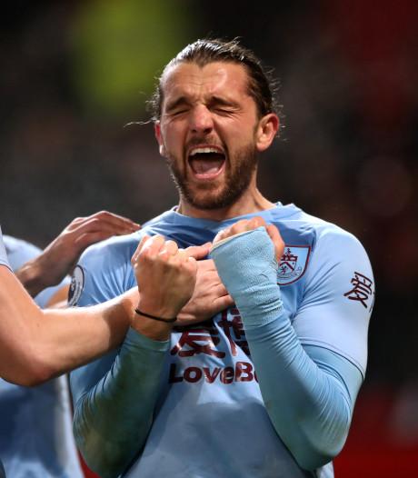 Burnley is ManUnited op Old Trafford verrassend de baas