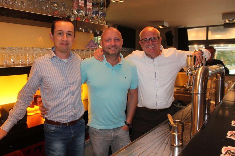 V.l.n.r.: zaakvoerders Geert Carlier, Peter Heymans en Gert Verhulst.