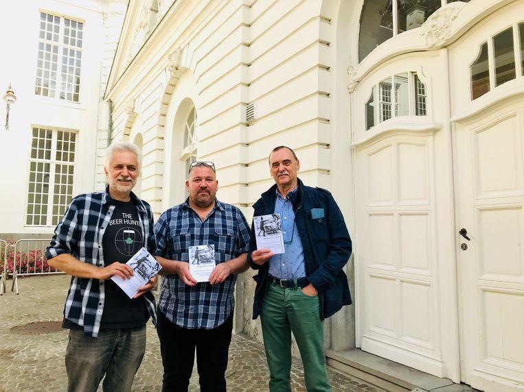 Jan Louies, David Goossens en Dirk Meert.