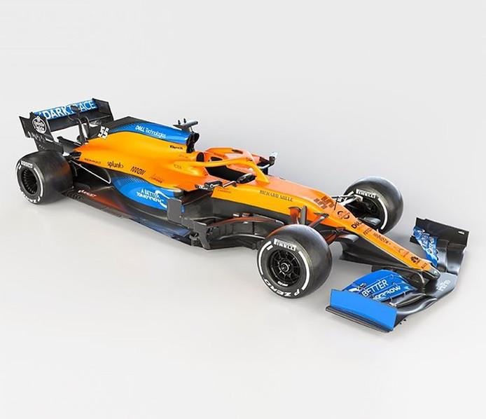 De nieuwe McLaren-bolide.