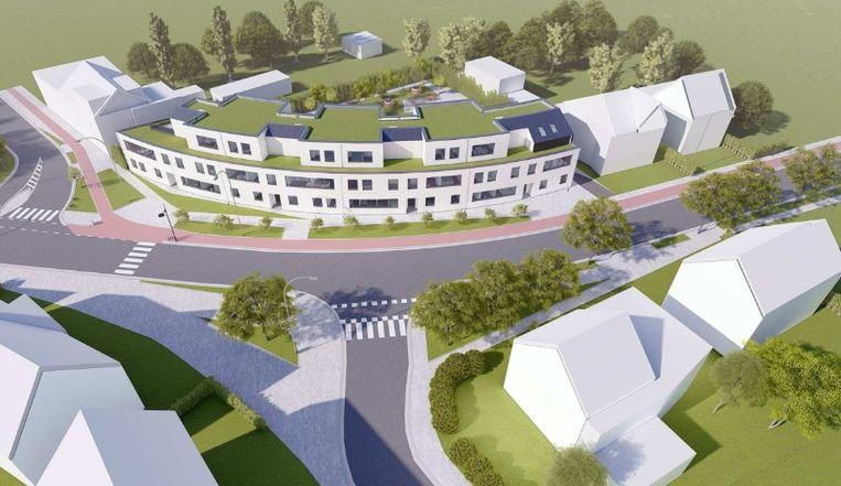 Nieuw bouwproject Ooststatiestraat-Kauwlei
