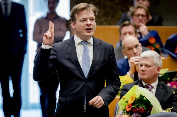 Pieter Omtzigt (CDA) kreeg bij de verkiezingen 97.638 voorkeursstemmen. Dat hadden er 171 meer moeten zijn.